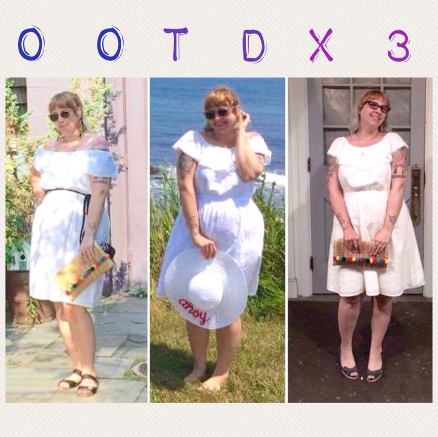 OOTD: 1 Dress 3Ways