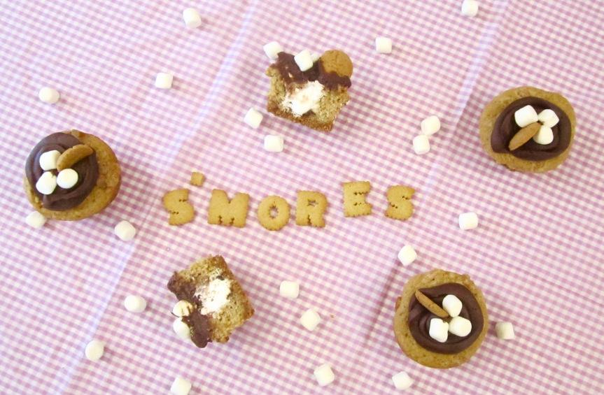 Recipe: S'MORES Cupcakes!