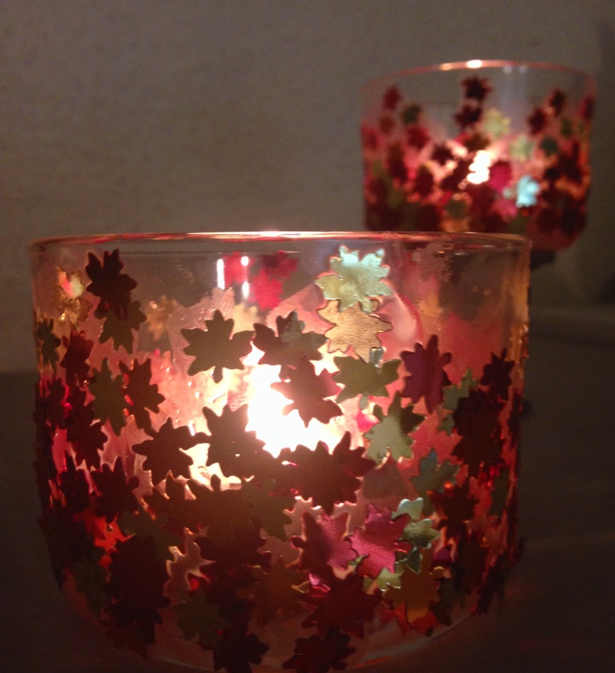 5 Minute DIY: Glass Luminaries