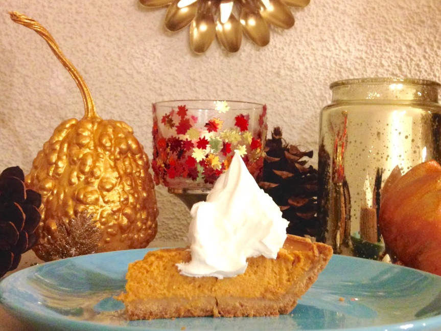 Shortcut Recipe: Quick'n'Easy Protein-Packed Pumpkin Pie